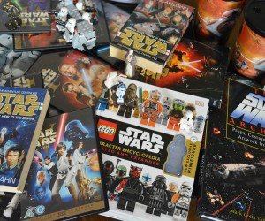 Picure of books toys and dvds